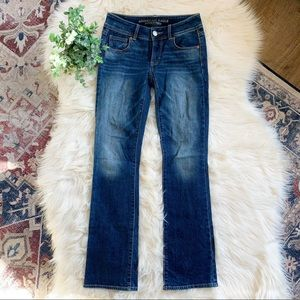 ❤️AEO❤️Size 00❤️KICK BOOTCUT Jeans